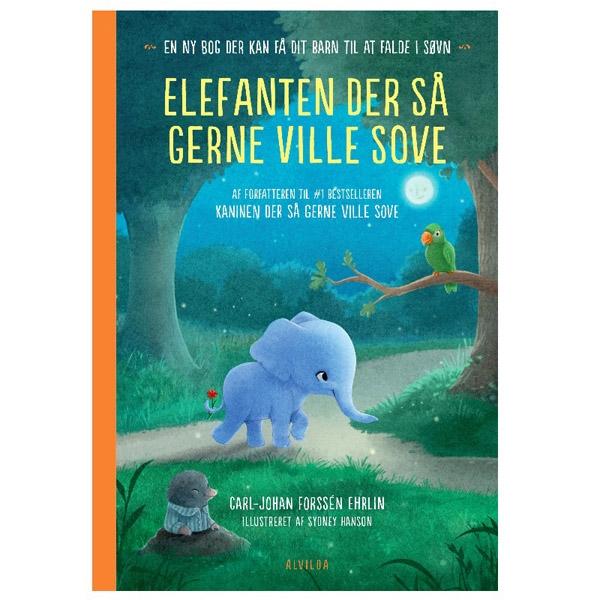 Image of   Alvilda Elefanten Der Så Gerne Ville Sove