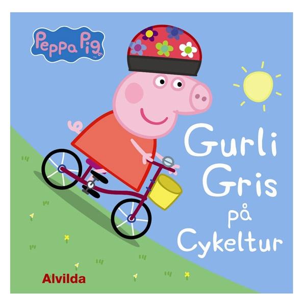 Image of   Alvilda Gurli Gris - På Cykeltur