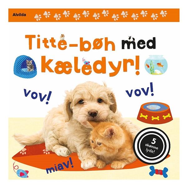 Image of   Alvilda Titte-Bøh med Kæledyr