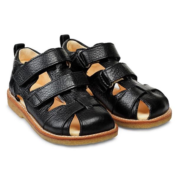 Image of   ANGULUS Sandal 2 x Velcro - Sort