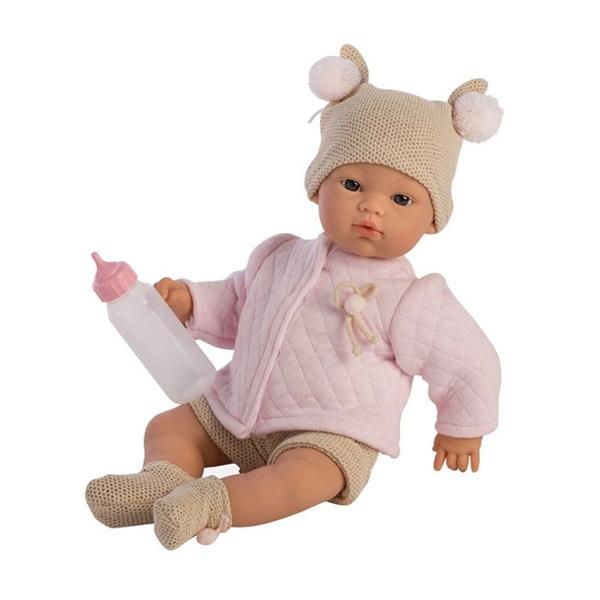 Image of Así Koke Babydukke 36 cm. - Rosa Trøje