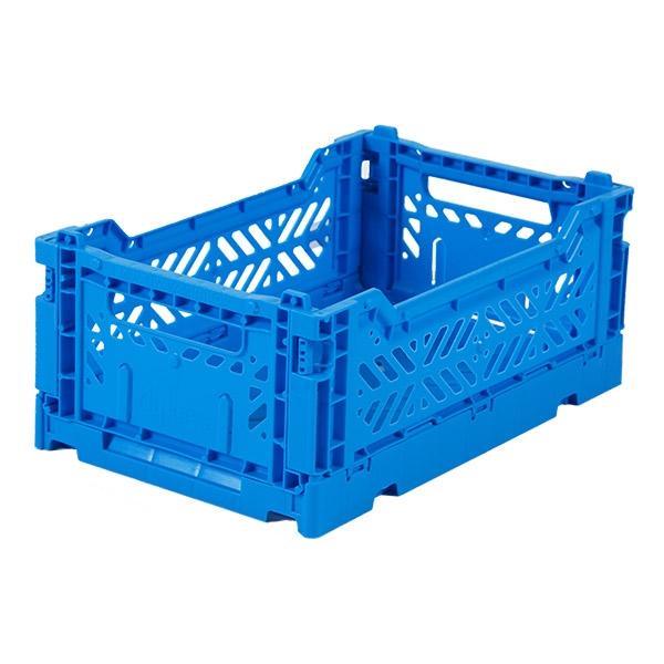 AYKASA Mini Foldekasse Electric Blue