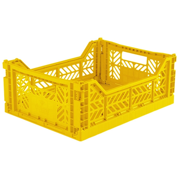 AYKASA Midi Foldekasse Yellow