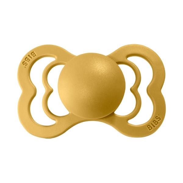 Image of   Bibs Supreme Silikone Sut - Mustard
