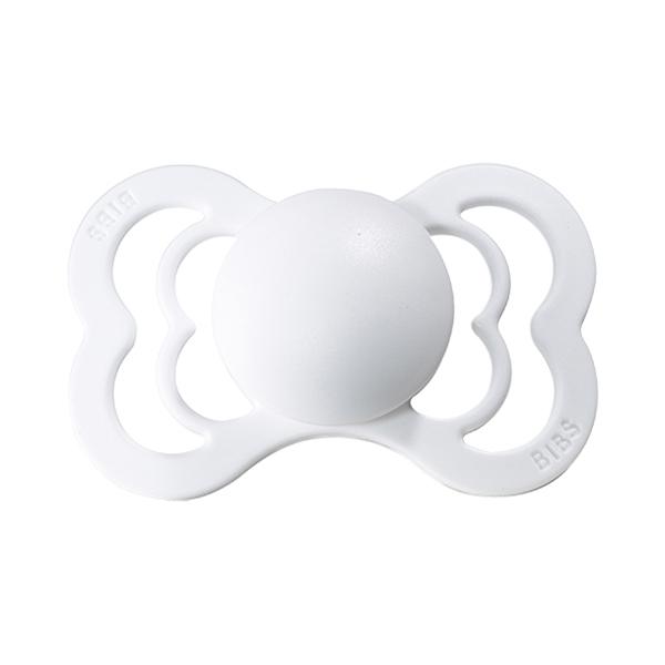 Image of   Bibs Supreme Silikone Sut - White