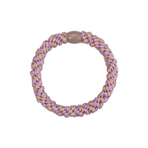 Image of   Bow's by Stær Hårelastik - Multi Purble Glitter Rosa