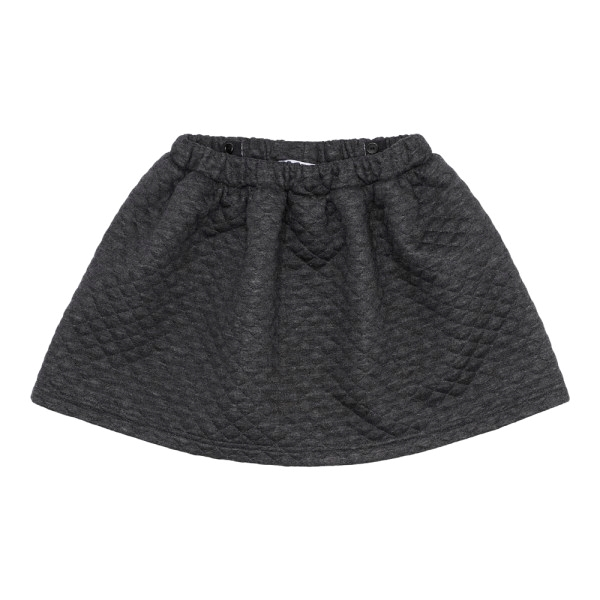 Image of   Christina Rohde Padded Dark Grey Skirt