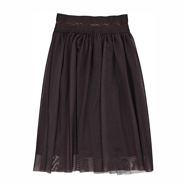 GRO Black Brown Long Skirt