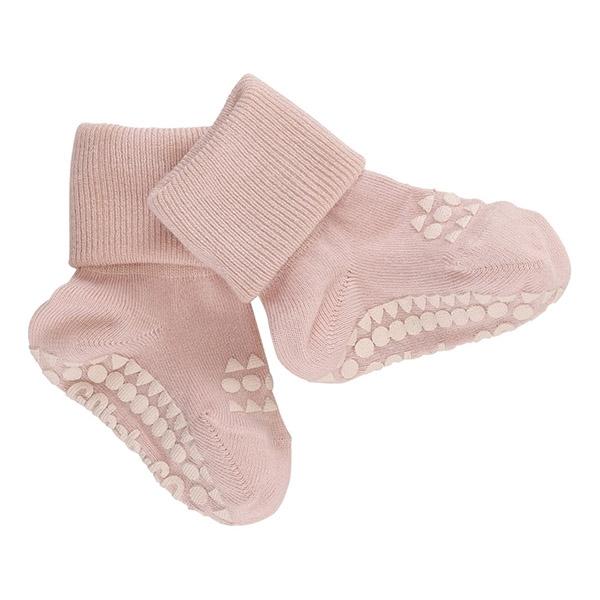Image of   GoBabyGo Non-Slip Bambus Strømper - Soft Pink