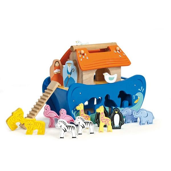 Image of   Le Toy Van Noahs Ark Puttekasse