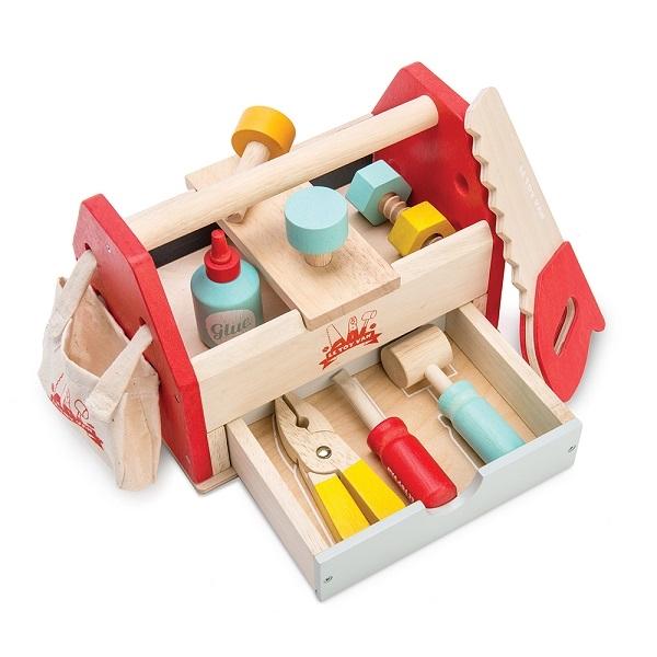 Image of   Le Toy Van Værktøjskasse med Værktøj