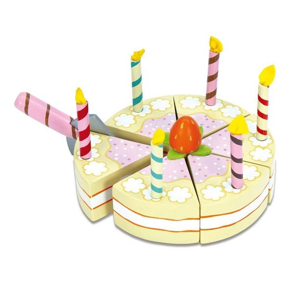 Image of   Le Toy Van Honeybake Fødselsdagskage