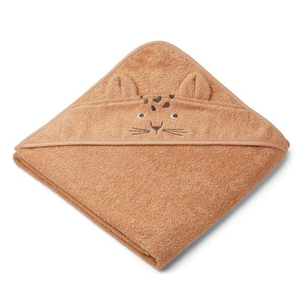 Liewood Babyhåndklæde Leopard – Apricot