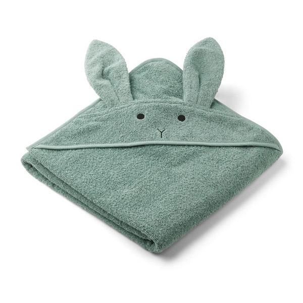Liewood Babyhåndklæde Rabbit – Peppermint
