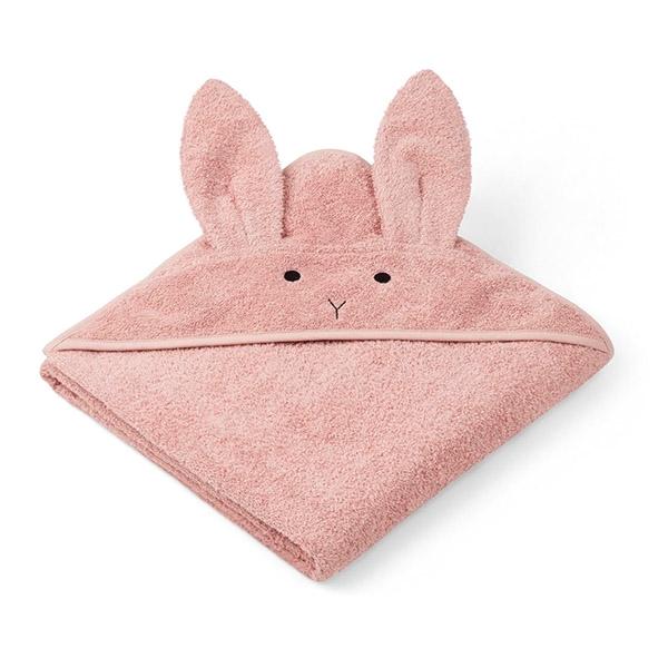 Billede af Liewood Babyhåndklæde Rabbit - Rose