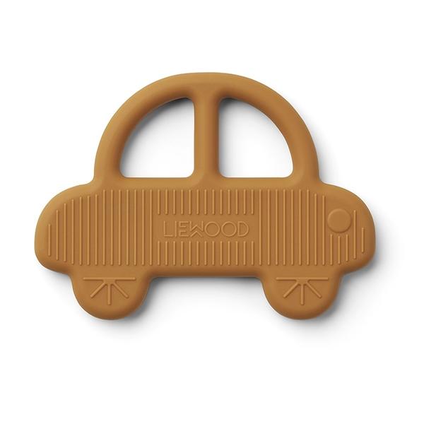 Liewood Silikone Bidering - Car Mustard