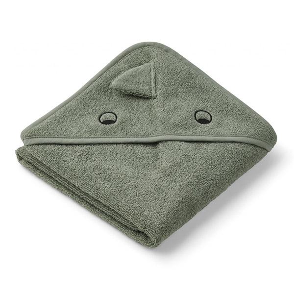 Image of   Liewood Newborn Håndklæde Dino - Faune Green