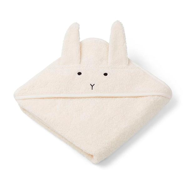 Image of   Liewood Newborn Håndklæde Rabbit - Creme