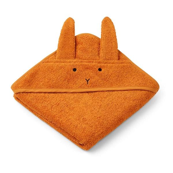 Liewood Newborn Håndklæde Rabbit – Mustard
