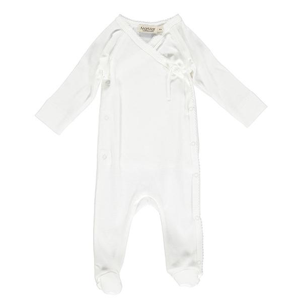 Image of   MarMar Newborn Heldragt - Hvid