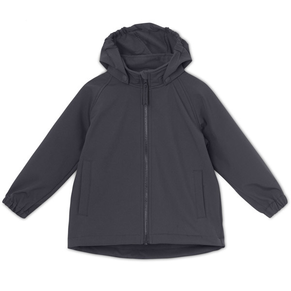 Image of   Mini A Ture Softshell Aden Jakke Blue Nights