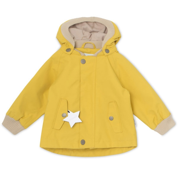 Image of   Mini A Ture Jakke Wally m. Fleece Yellow