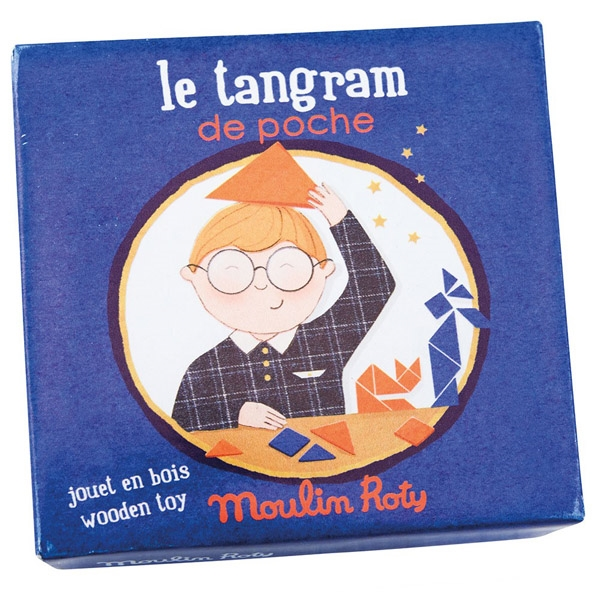 Image of   Moulin Roty Lomme Tangram Spil