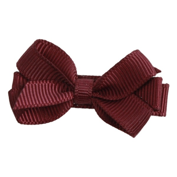 Image of   Bows by Stær Mini Bow - Bordeaux