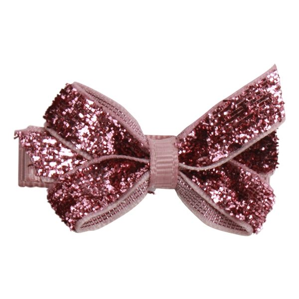 Image of   Bows by Stær Mini Bow - Rosa Glitter