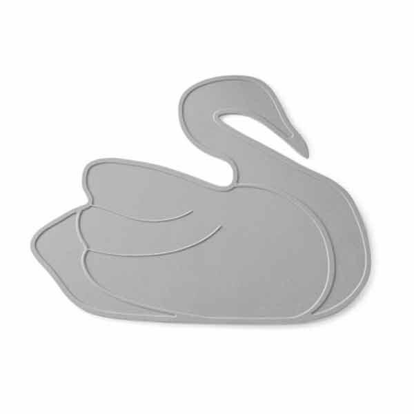 By lille vilde dækkeserviet svane - grå fra N/A fra parcellet