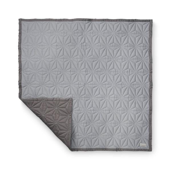 N/A Quiltet babytæppe cam cam - grå fra parcellet