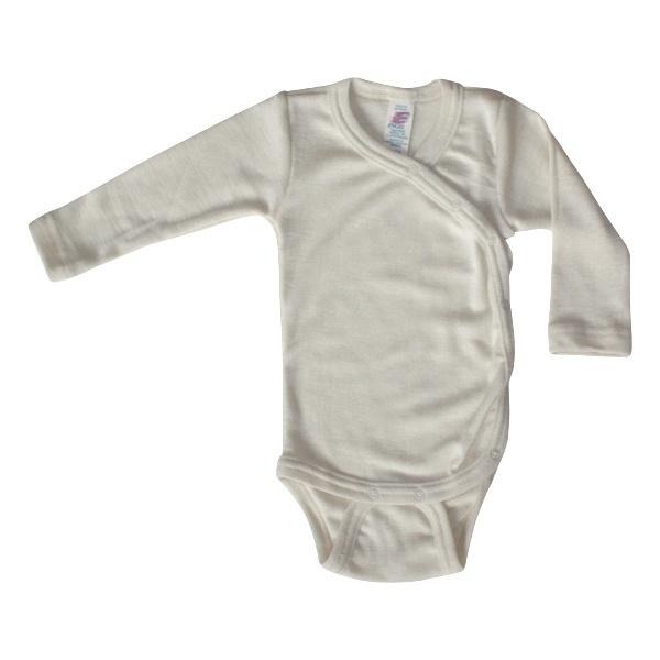 Slå-om body uld/silke - engel fra N/A fra parcellet