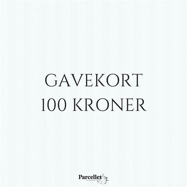 Image of   Gavekort på 100 DKK