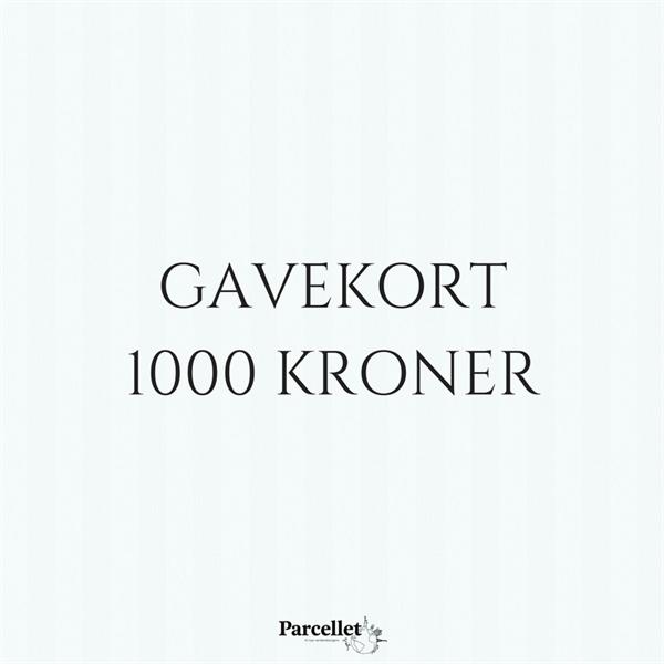 Image of   Gavekort på 1000 DKK