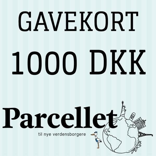 N/A – Gavekort på 1000 dkk fra parcellet