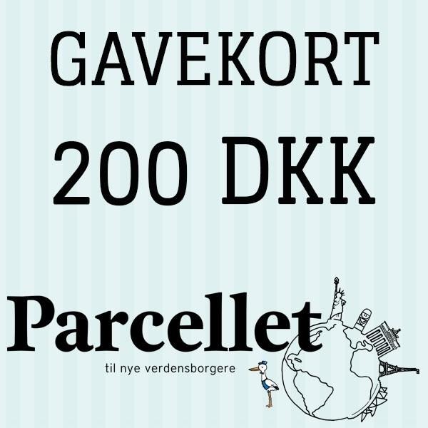 Gavekort på 200 dkk fra N/A fra parcellet