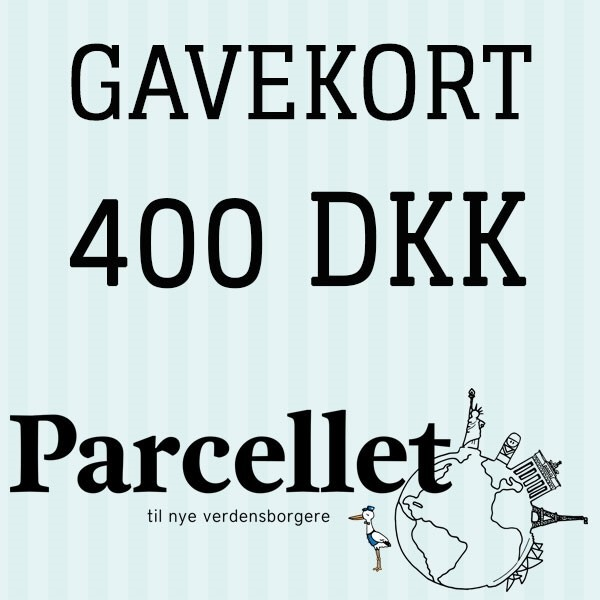 N/A Gavekort på 400 dkk fra parcellet