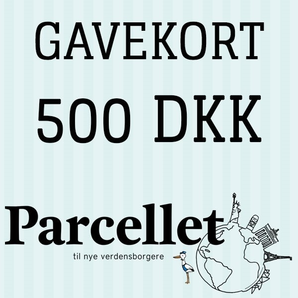 N/A Gavekort på 500 dkk fra parcellet
