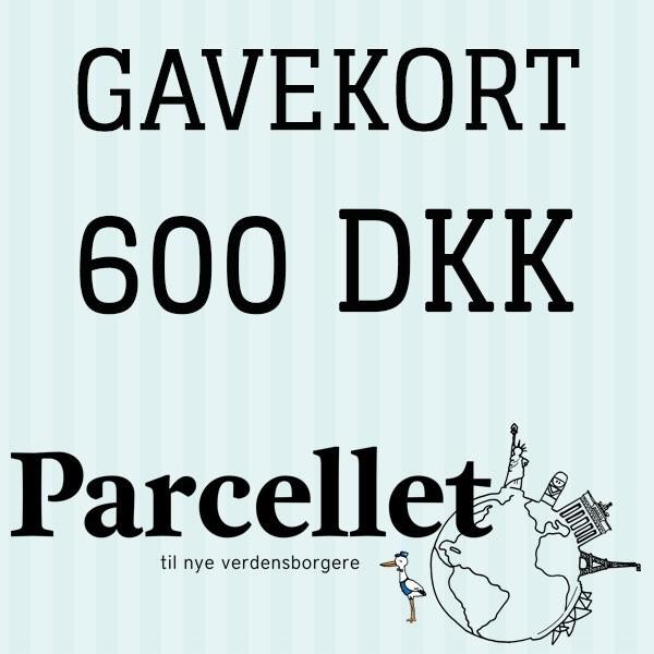 N/A Gavekort på 600 dkk på parcellet