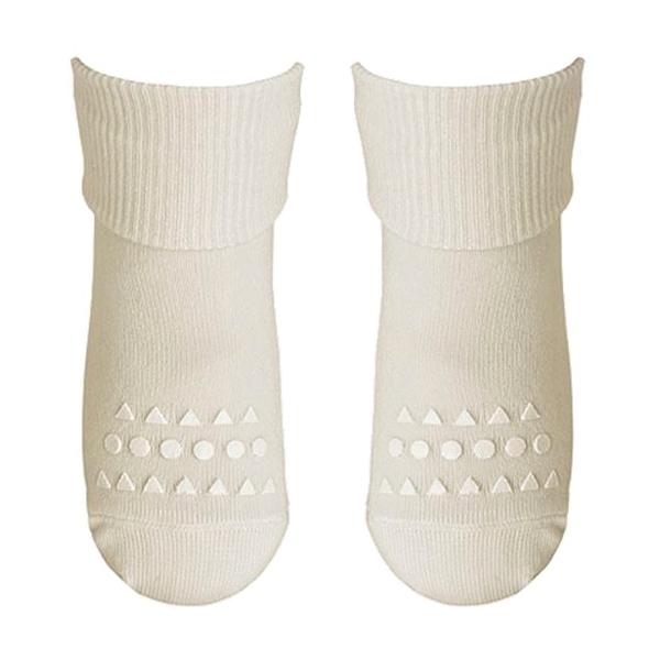 Image of   GoBabyGo Non-Slip Bambus Strømper - Off White
