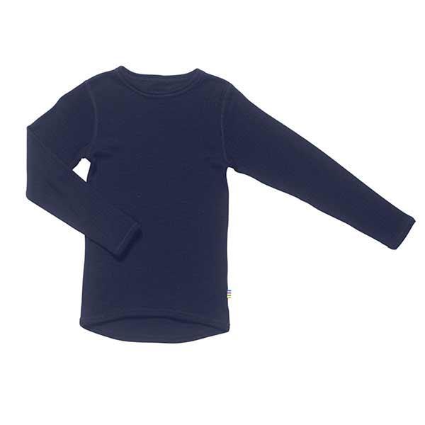 N/A Joha bluse i uld - navy på parcellet
