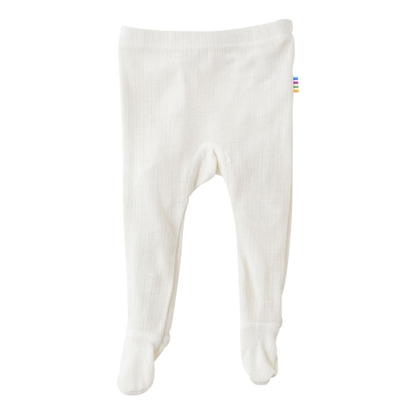 Joha uld leggings m. fødder - natur fra N/A fra parcellet