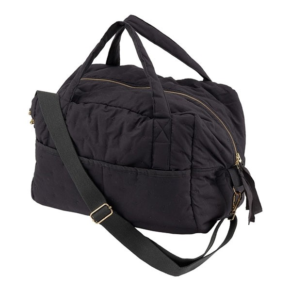 Image of   Konges Sløjd Quiltet Mommy Bag - Navy