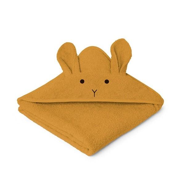 Image of   Liewood Babyhåndklæde Rabbit - Mustard