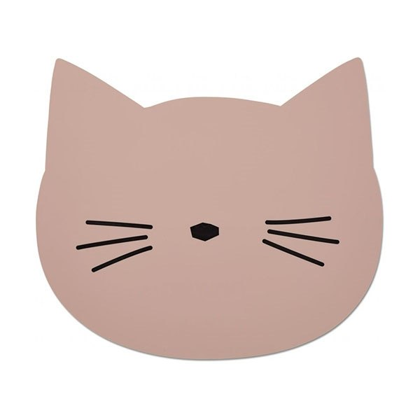 Image of   Liewood Placemat Cat - Rose