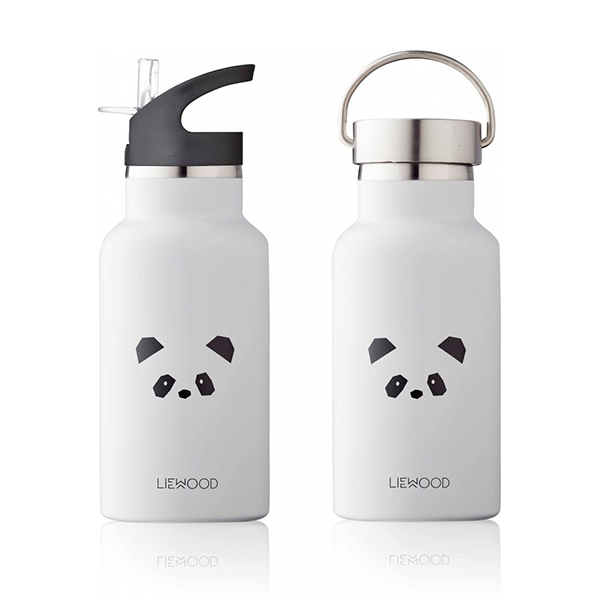 Image of   Liewood Anker Drikkedunk Panda - Light Grey