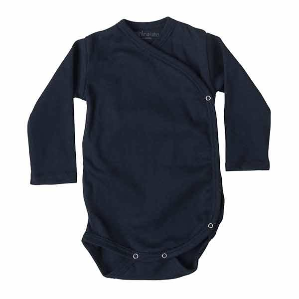 Image of   Minimalisma Morris Wrap Body - Dark Blue