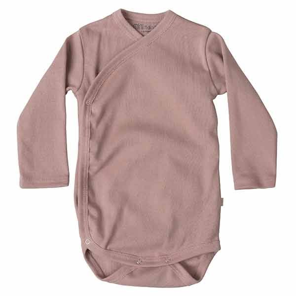 Image of   Minimalisma Morris Wrap Body - Dusty Rose