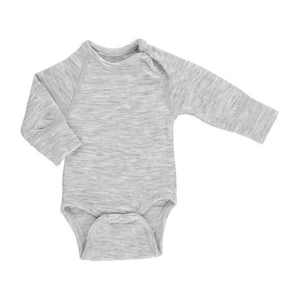 Minipop uld body - gråmelange fra N/A fra parcellet