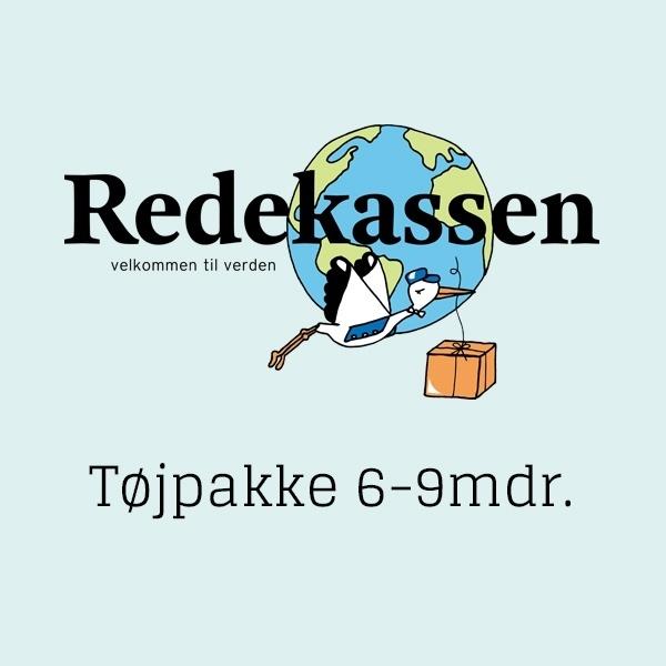 N/A – Redekassen - tøjpakke 6-9mdr. på parcellet